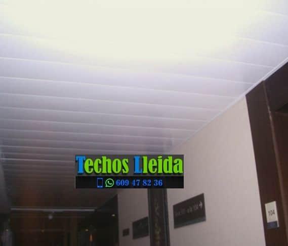 Techos de aluminio en Alfés Lleida