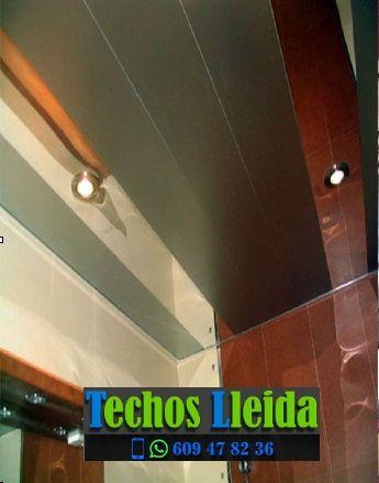 Techos de aluminio en Alins Lleida