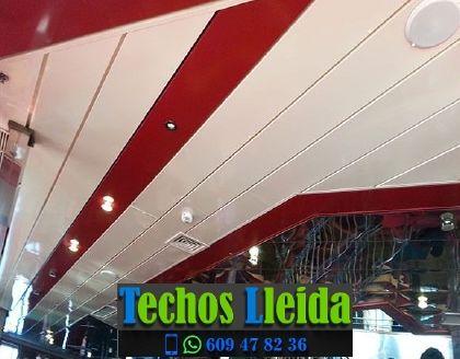 Techos de aluminio en Almacelles Lleida
