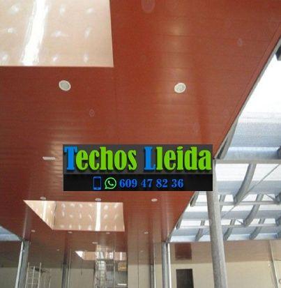 Techos de aluminio en Arres Lleida