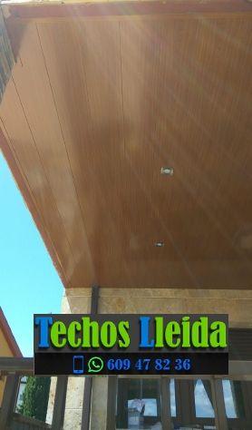 Techos de aluminio en Benós Valle de Arán Lleida