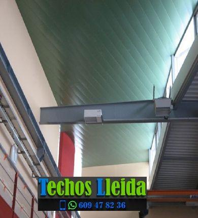 Techos de aluminio en Cabanabona Lleida