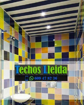 Techos de aluminio en Camarasa Lleida