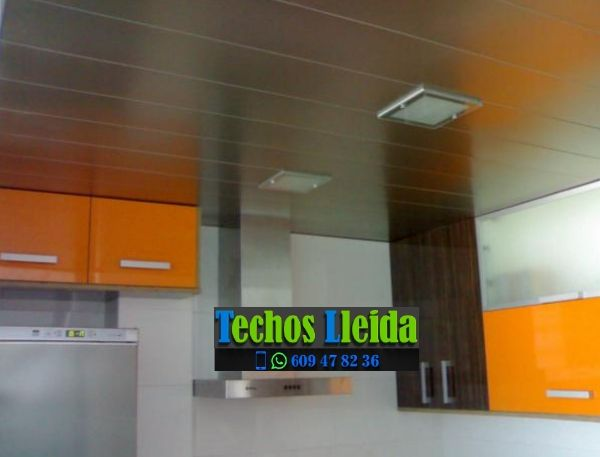 Techos de aluminio en Castell de Mur Lleida