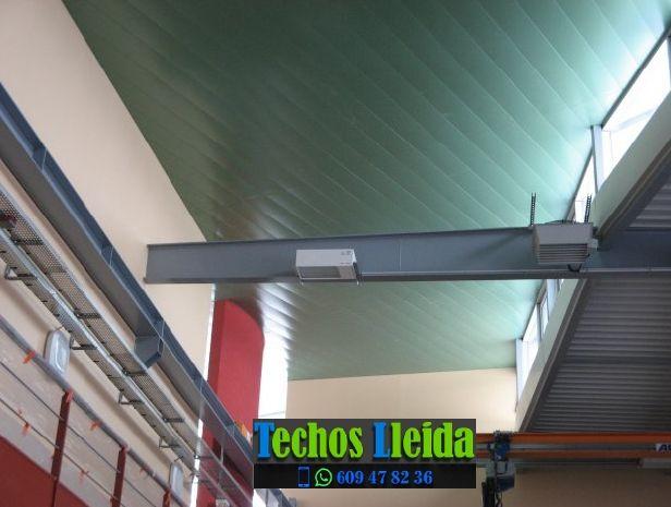 Techos de aluminio en Coll de Nargó Lleida