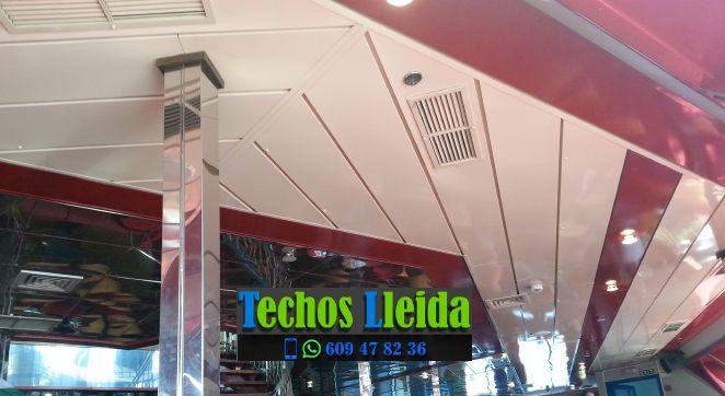 Techos de aluminio en El Poal Lleida