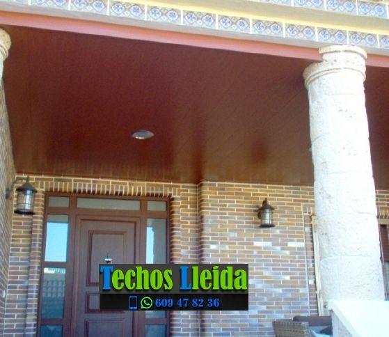 Techos de aluminio en El Soleràs Lleida