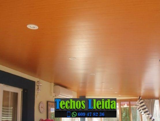 Techos de aluminio en Els Omellons Lleida