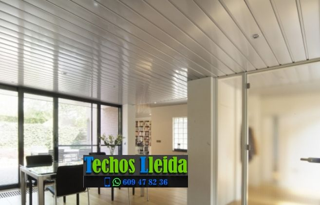 Techos de aluminio en Els Plans de Sió Lleida