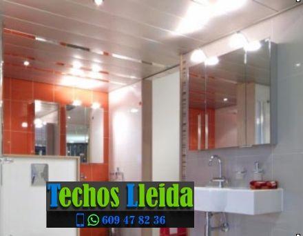 Techos de aluminio en Fígols i Alinyà Lleida