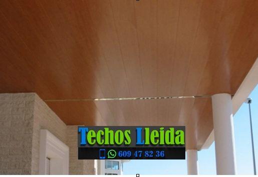 Techos de aluminio en Fulleda Lleida