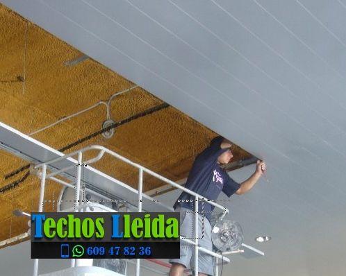 Techos de aluminio en Gimenells i el Pla de la Font Lleida