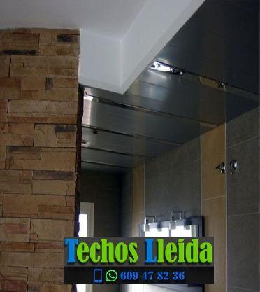 Techos de aluminio en Guimerà Lleida