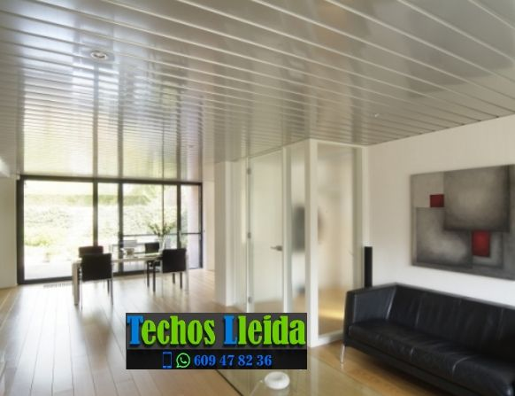 Techos de aluminio en La Baronia de Rialb Lleida