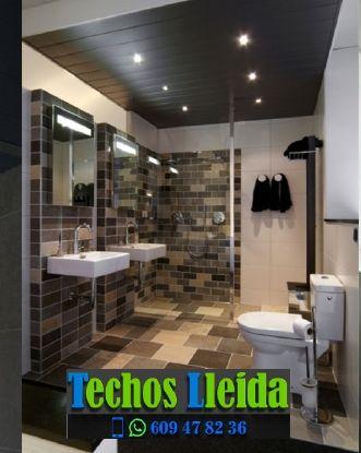 Techos de aluminio en La Pobla de Cérvoles Lleida