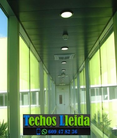 Techos de aluminio en Les Avellanes i Santa Linya Lleida