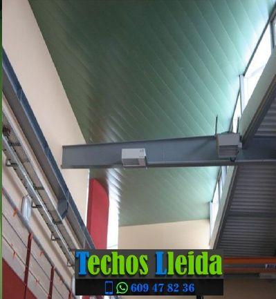 Techos de aluminio en Les Oluges Lleida