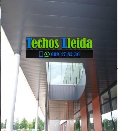 Techos de aluminio en Les Valls de Valira Lleida