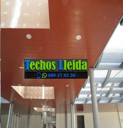Techos de aluminio en Lladorre Lleida