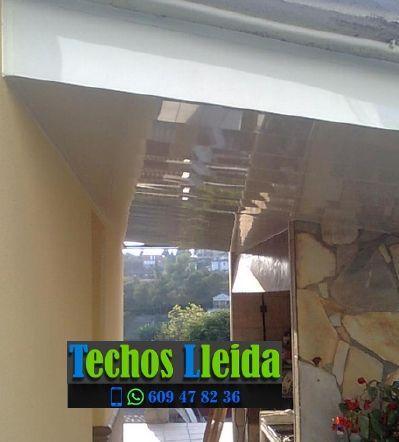 Techos de aluminio en Maldà Lleida