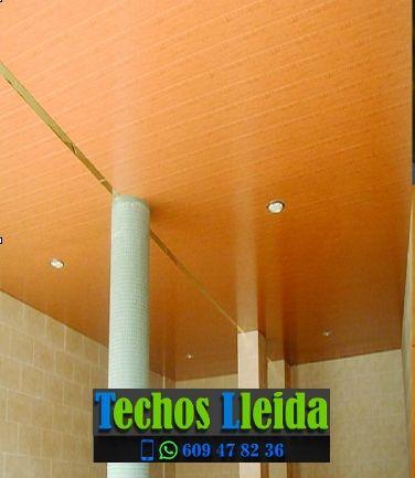 Techos de aluminio en Massoteres Lleida