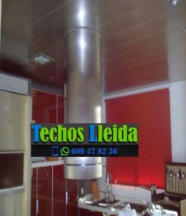 Techos de aluminio en Miralcamp Lleida