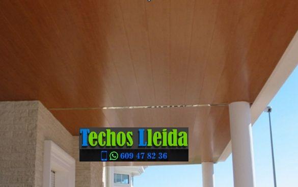 Techos de aluminio en Montferrer i Castellbò Lleida