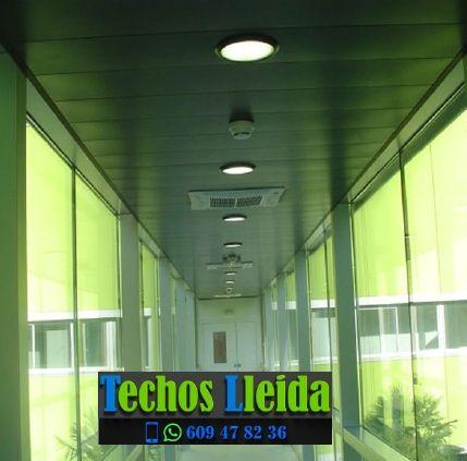 Techos de aluminio en Montgai Lleida
