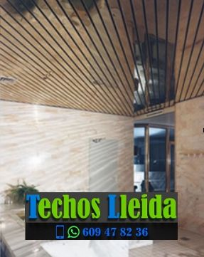 Techos de aluminio en Montoliu de Lleida Lleida