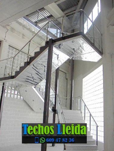 Techos de aluminio en Montoliu de Segarra Lleida