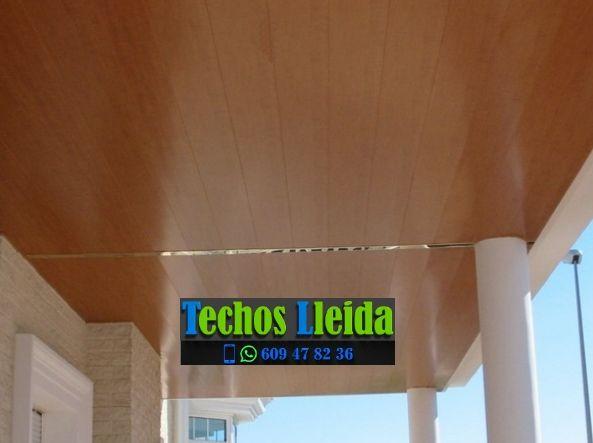 Techos de aluminio en Montornès de Segarra Lleida