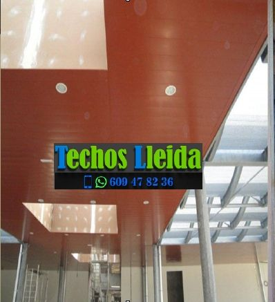Techos de aluminio en Odèn Lleida