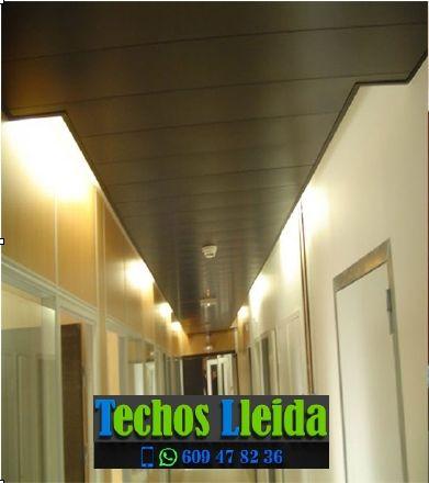 Techos de aluminio en Oliana Lleida