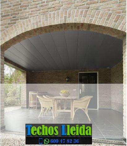 Techos de aluminio en Penelles Lleida