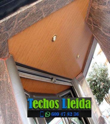 Techos de aluminio en Pinós Lleida