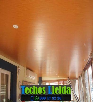 Techos de aluminio en Preixana Lleida