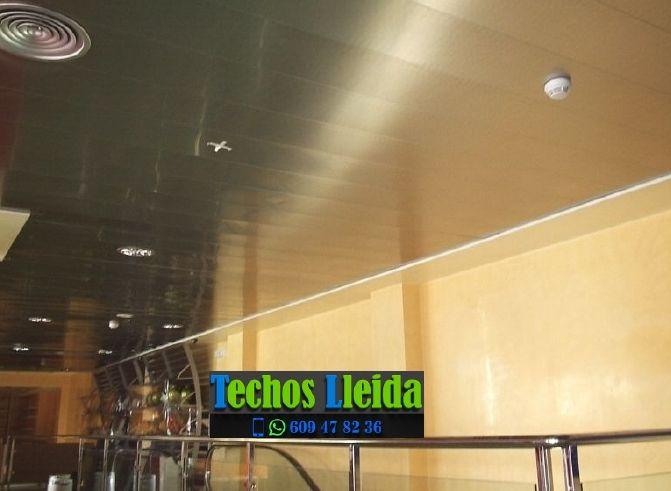 Techos de aluminio en Rosselló Lleida