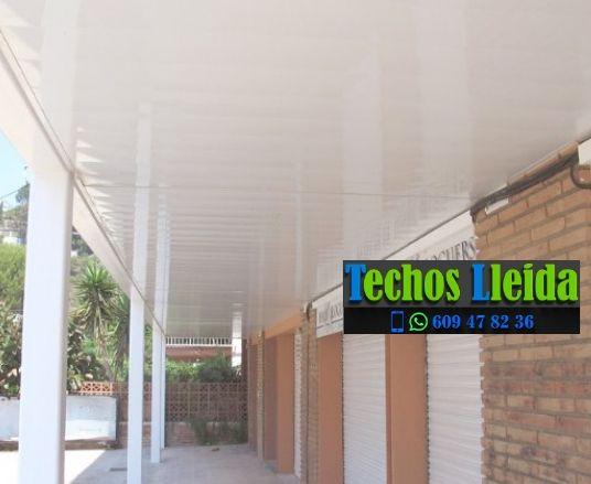 Techos de aluminio en Sant Guim de Freixenet Lleida