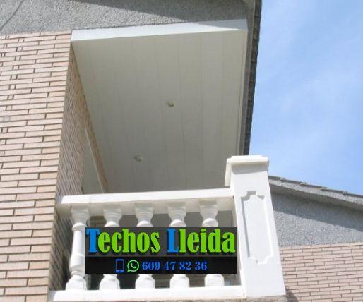 Techos de aluminio en Sant Guim de la Plana Lleida
