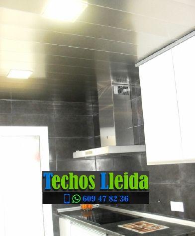 Techos de aluminio en Sant Martí de Riucorb Lleida