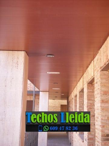 Techos de aluminio en Sarroca de Bellera Lleida