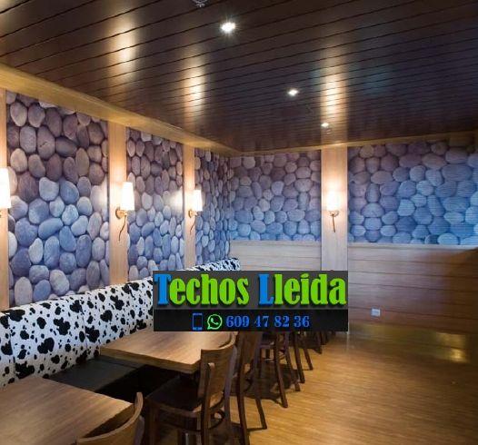 Techos de aluminio en Seròs Lleida