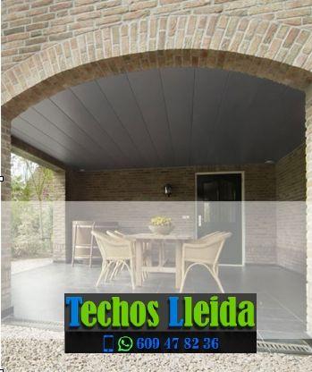 Techos de aluminio en Soses Lleida