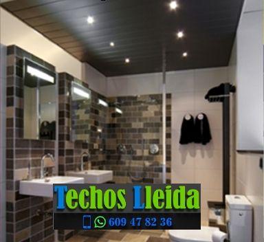 Techos de aluminio en Tarrés Lleida