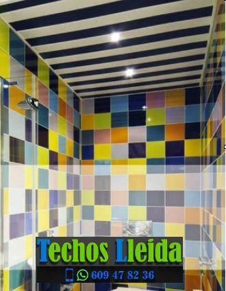 Techos de aluminio en Torre-serona Lleida
