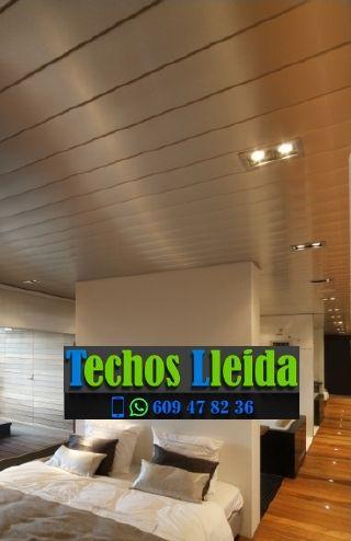 Techos de aluminio en Verdú Lleida