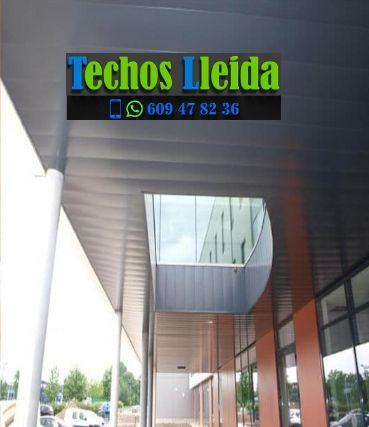 Techos de aluminio en Vila Vall d'Aran Lleida
