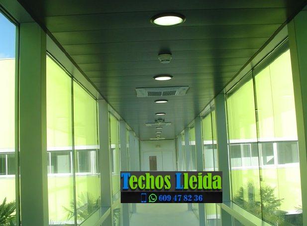 Techos de aluminio en Àger Lleida